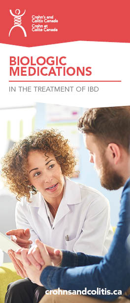 Biologic Medications in the treatment of IBD brochure