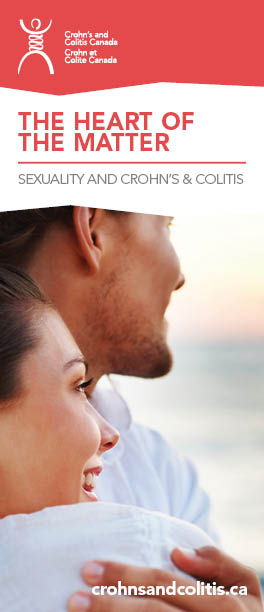 The Heart of the Matter - a brochure about Sexuality and Crohn's disease and ulcerative colitis