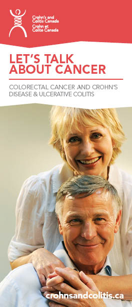 Let's Talk About Cancer - A brochure on Colorectal cancer and Crohn's disease and Ulcerative Colitis